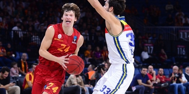 7DAYS EuroCup, Regular Season Round 1: Galatasaray Istanbul vs. MoraBanc Andorra