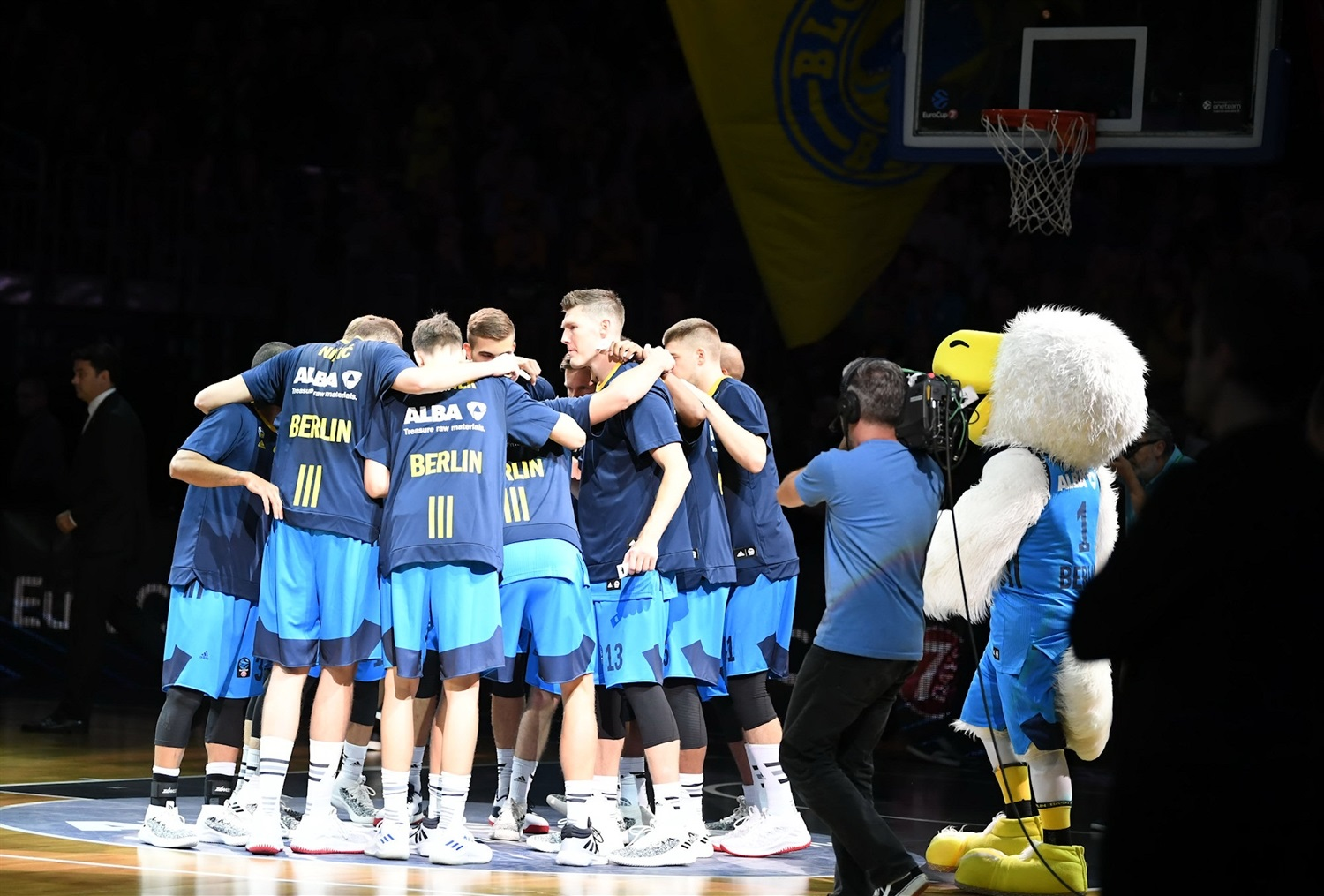 Players ALBA Berlin (photo Tofas Bursa) - EC18