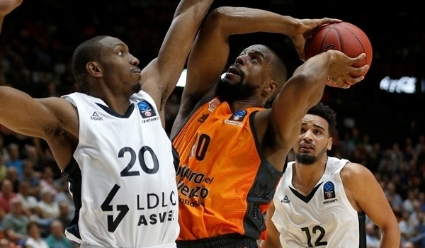 RS Round 1: Valencia rallies past ASVEL in home opener