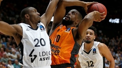 Valencia rallies past ASVEL in home opener