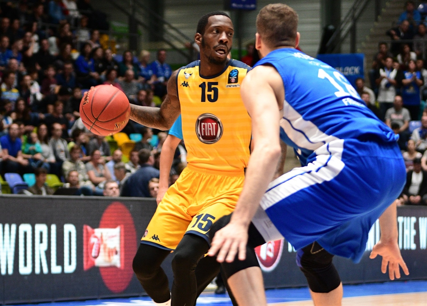 Tyshawn Taylor - Fiat Turin (photo Fraport Skyliners) - EC18