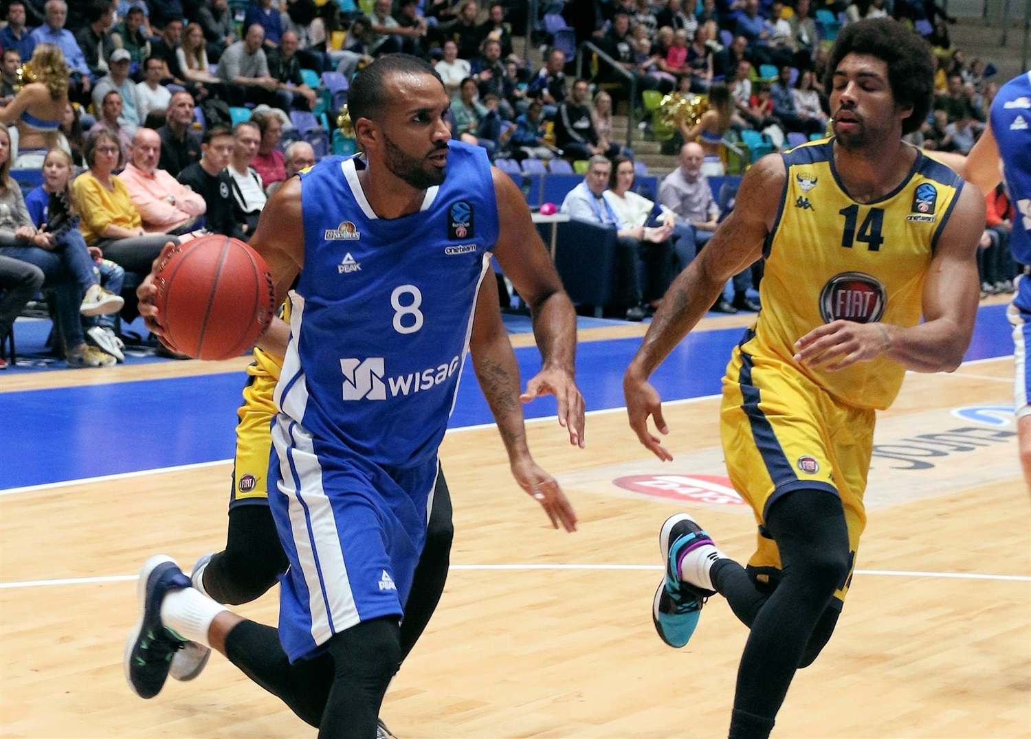 Akeem Vargas - Fraport Skyliners Frankfurt (photo Fraport Skyliners) - EC18