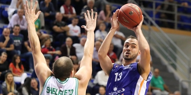 7DAYS EuroCup, Regular Season Round 1: Mornar Bar vs. UNICS Kazan