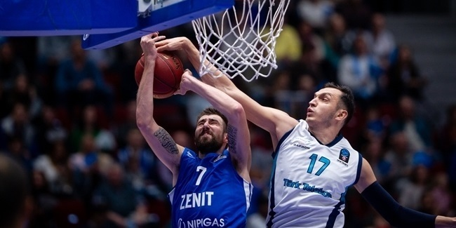 7DAYS EuroCup, Regular Season Round 1: Zenit St Petersburg vs. Turk Telekom Ankara