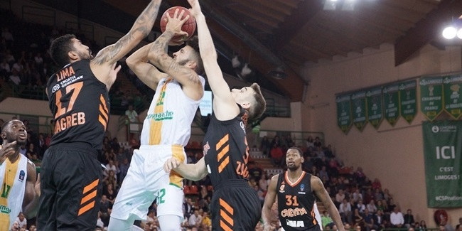 7DAYS EuroCup, Regular Season Round 1: Limoges CSP vs. Cedevita Zagreb