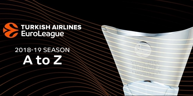 A to Z in the 2018-19 Turkish Airlines EuroLeague!
