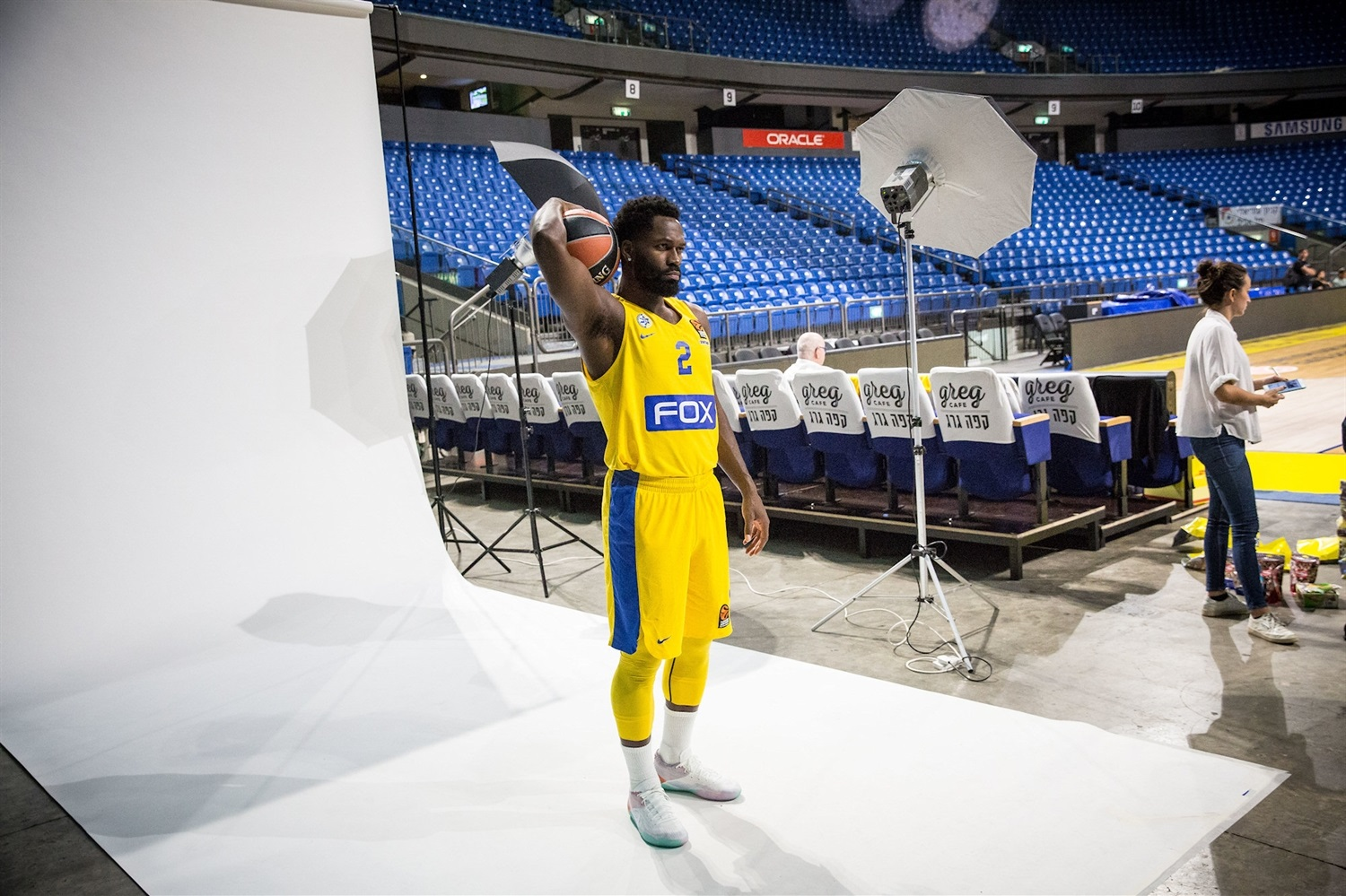 Jeremy Pargo - Maccabi FOX Tel Aviv Media Day 2018 (photo Maccabi) - EB18