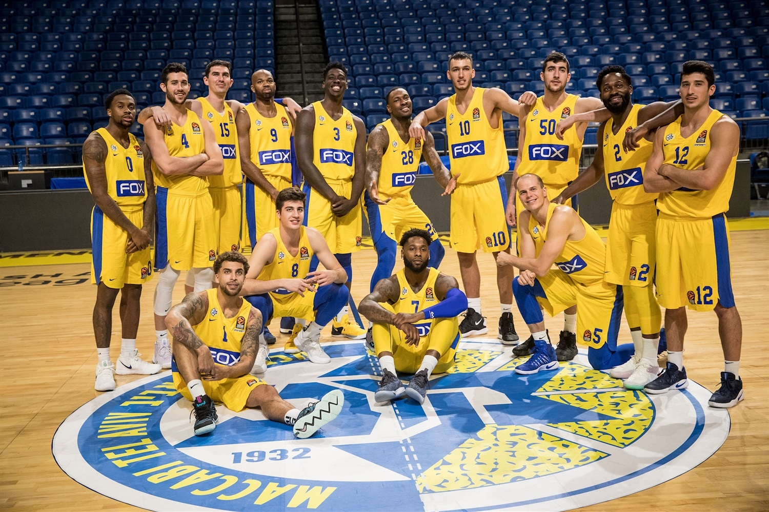 Maccabi FOX Tel Aviv Media Day 2018 - EB18