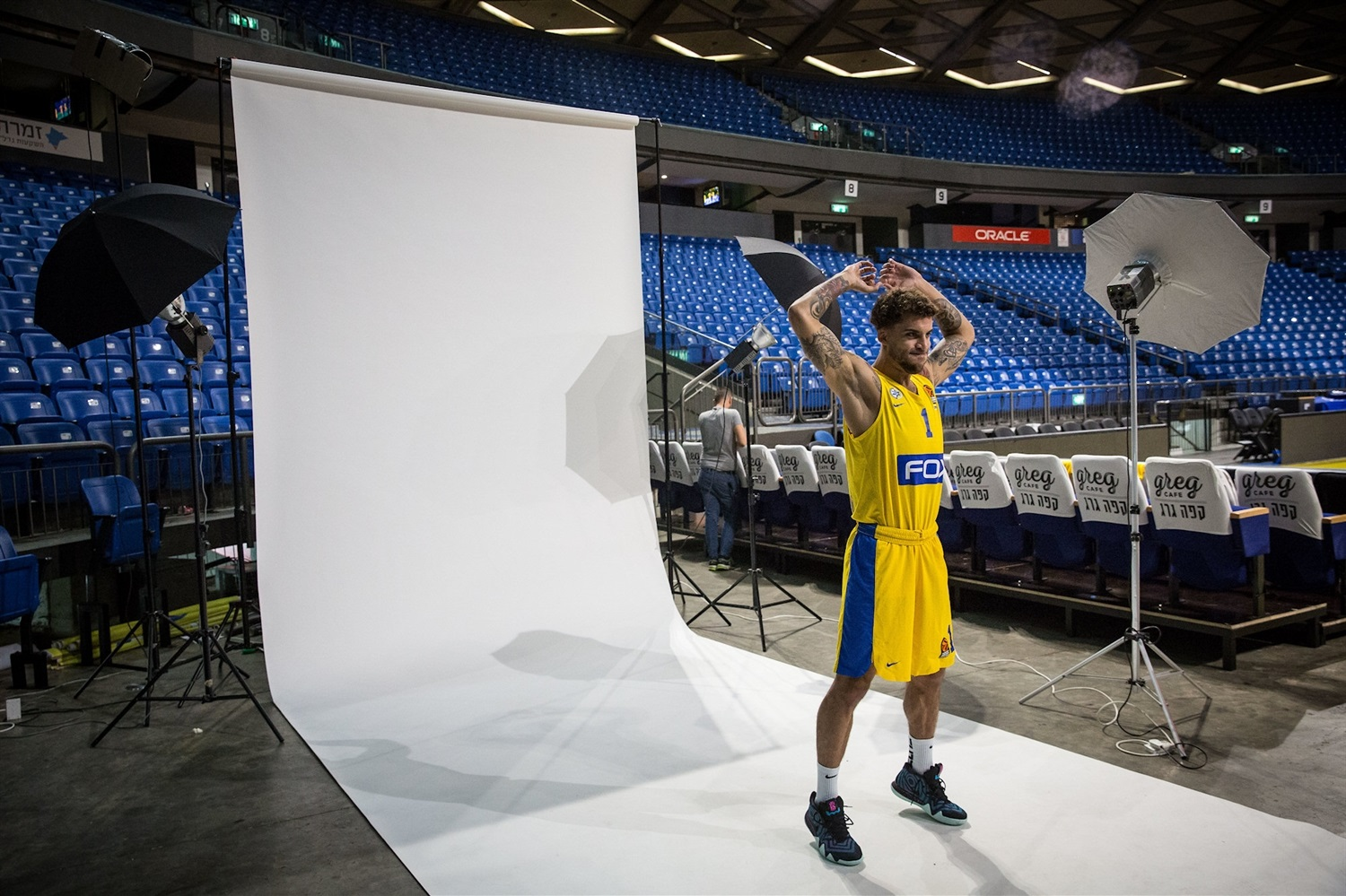 Scottie Wilbekin - Maccabi FOX Tel Aviv Media Day 2018 - EB18