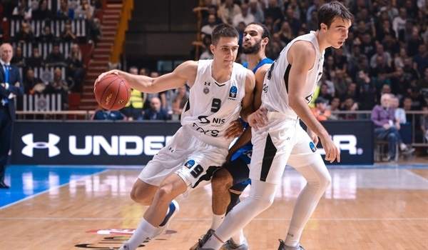 RS Round 2: Partizan snaps home drought, sinks Zenit