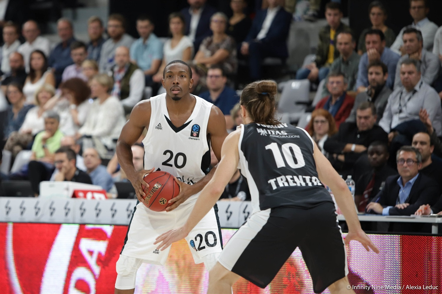Demarcus Nelson - LDLC ASVEL Villeurbanne (photo Infinity Nine Media - Alexia Leduc) - EC18