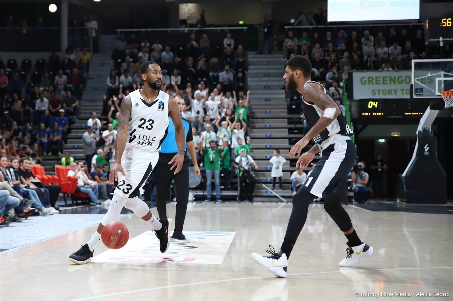 David Lighty - LDLC ASVEL Villeurbanne (photo Infinity Nine Media - Alexia Leduc) - EC18