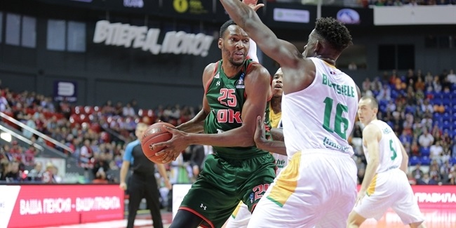 7DAYS EuroCup, Regular Season Round 2: Lokomotiv Kuban Krasnodar vs. Limoges CSP