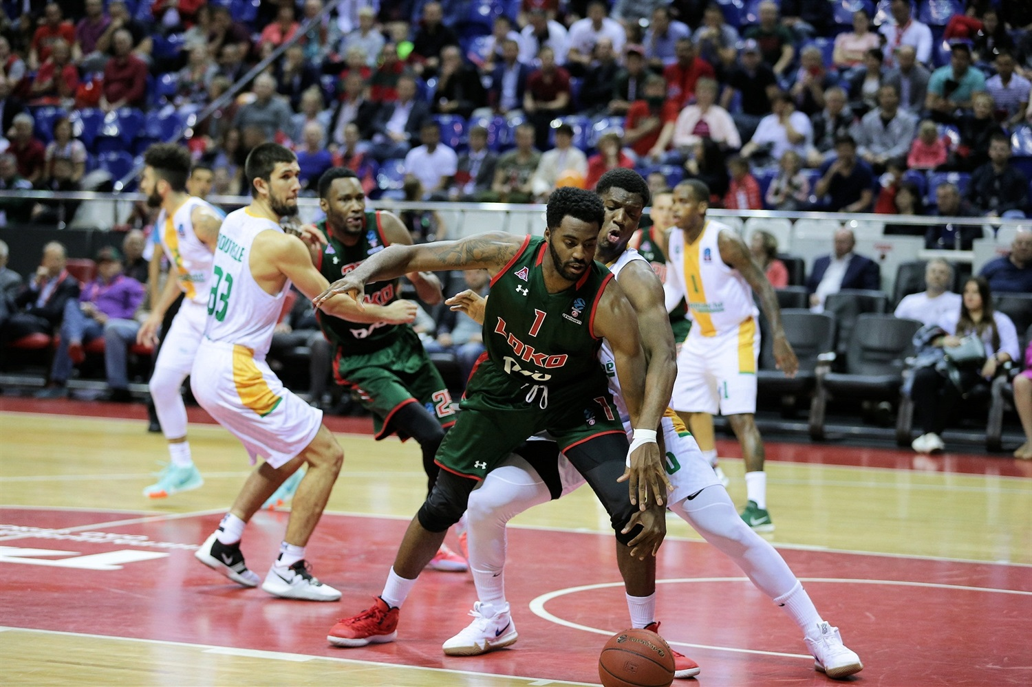 Jamel McLean - Lokomotiv Kuban Krasnodar (photo Lokomotiv) - EC18