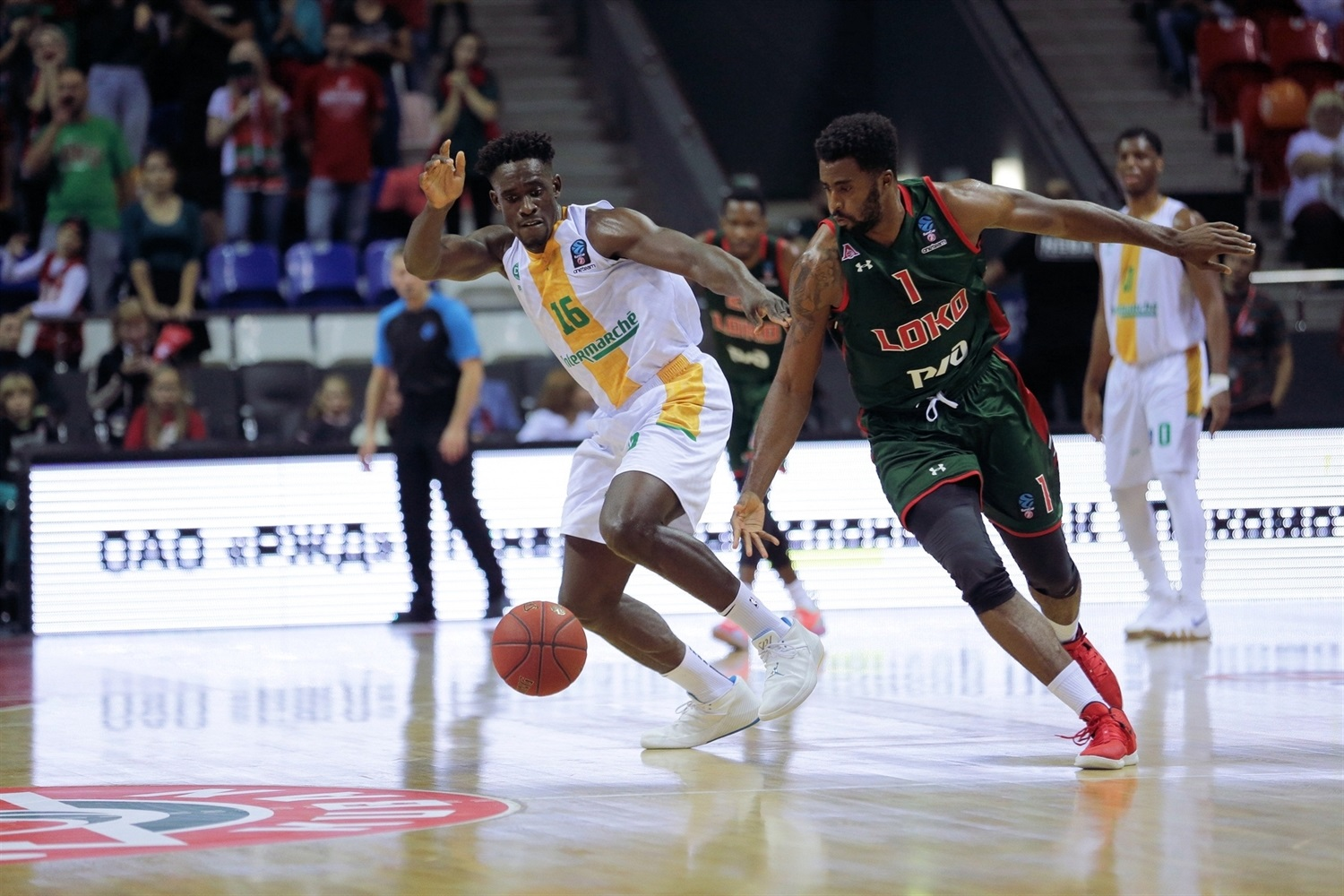 Jerry Boutsiele - Limoges CSP (photo Lokomotiv) - EC18