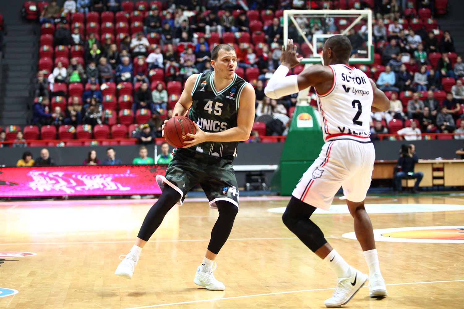Maksim Sheleketo - UNICS Kazan (photo Unics) - EC18
