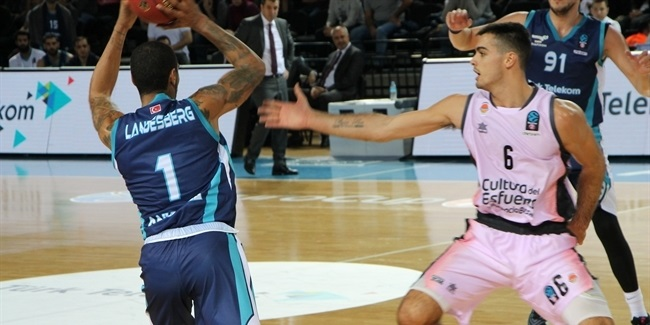 7DAYS EuroCup, Regular Season Round 2: Turk telekom Ankara vs. Valencia Basket
