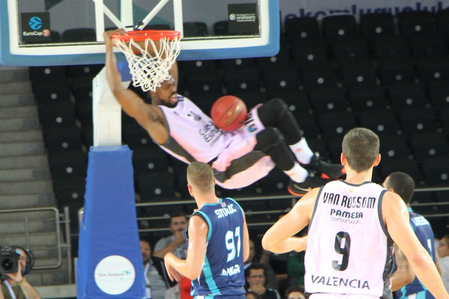 Will Thomas - Valencia Basket (photo Turk Telekom) - EC18
