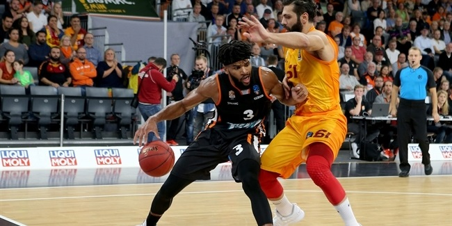 7DAYS EuroCup, Regular Season Round 2: ratiopharm Ulm vs. Galatasaray Istanbul
