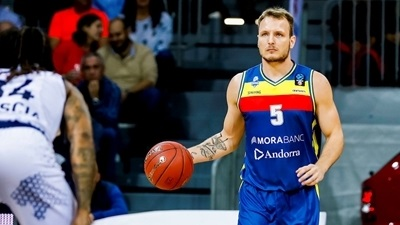 Andorra's Luz out to make his name within famous basketball family
