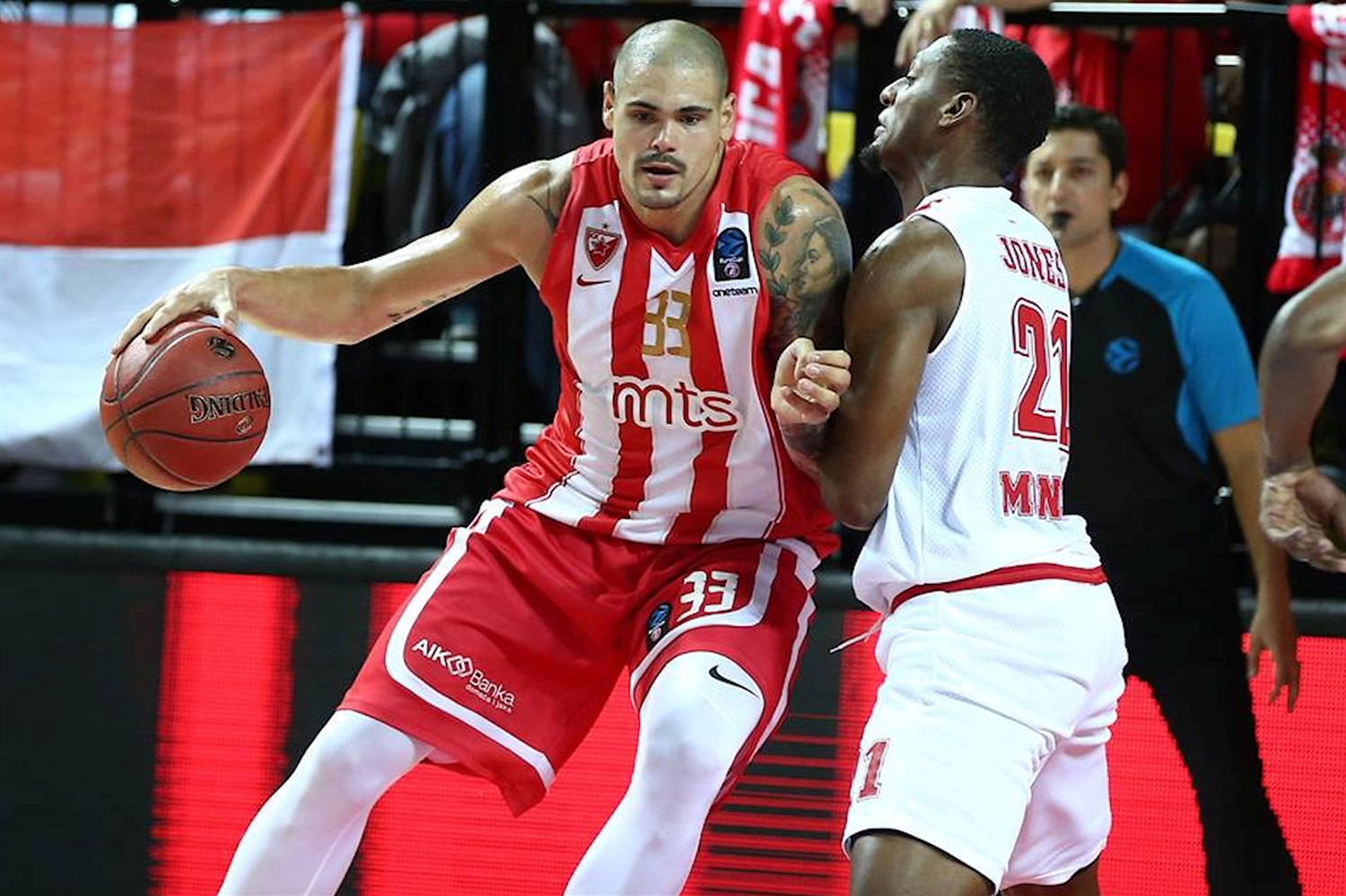 Maik Zirbes - Crvena Zvezda mts Belgrade (photo AS Monaco) - EC18