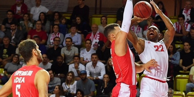 7DAYS EuroCup, Regular Season Round 2: AS Monaco vs. Crvena Zvezda mts Belgrade