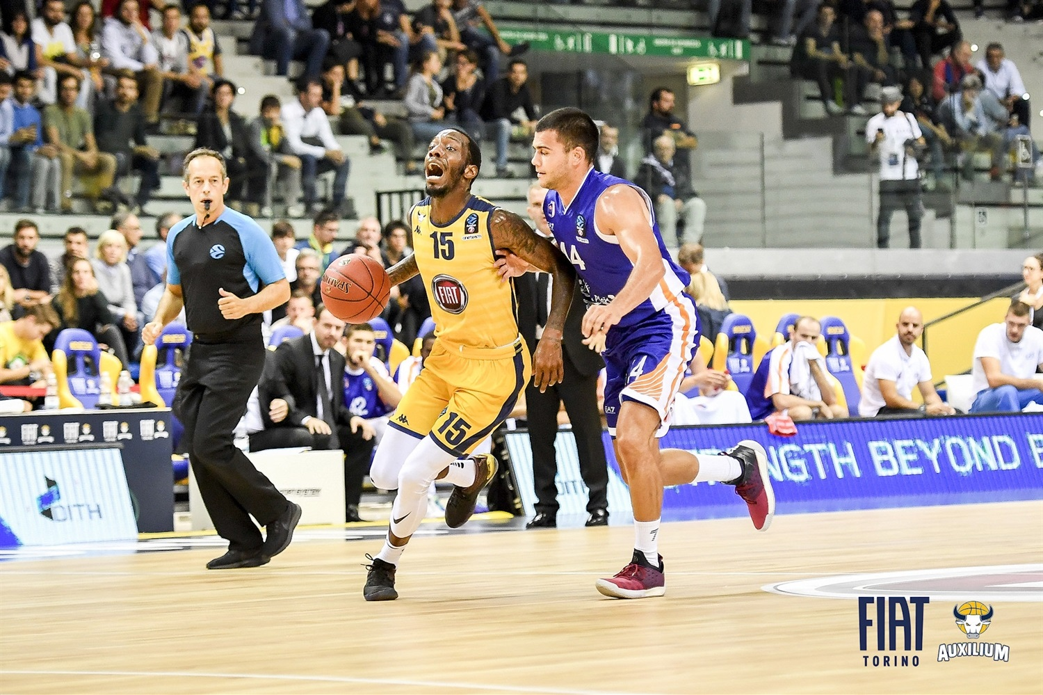 Tyshawn Taylor - Fiat Turin (photo Fiat Turin) - EC18