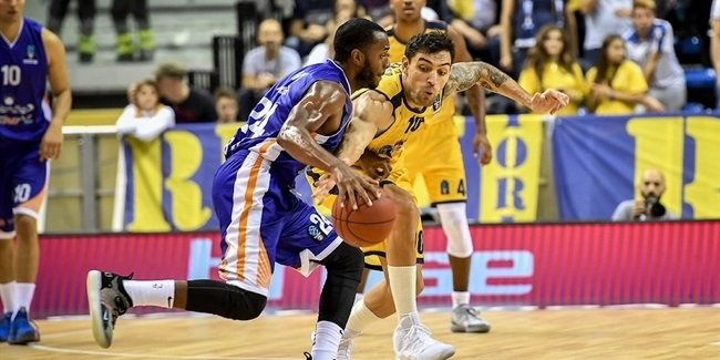 7DAYS EuroCup, Regular Season Round 2: Fiat Turin vs. Mornar Bar