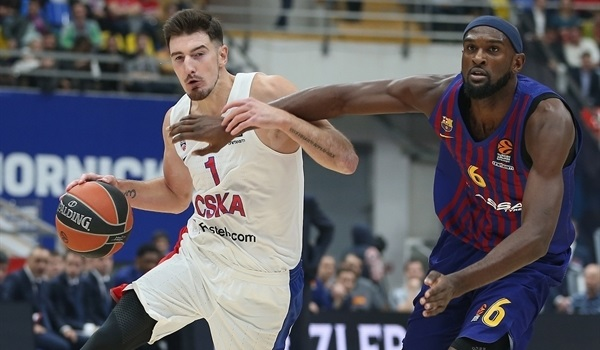 RS Round 1: CSKA too strong for Barca in opener