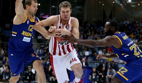 Olympiacos withstands Shved blitz to down Khimki