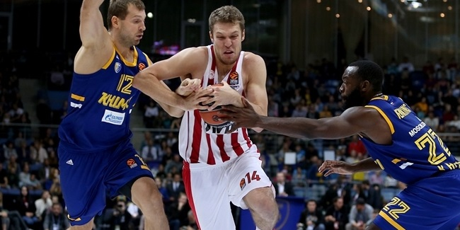 Vezenkov seized his chance for Olympiacos