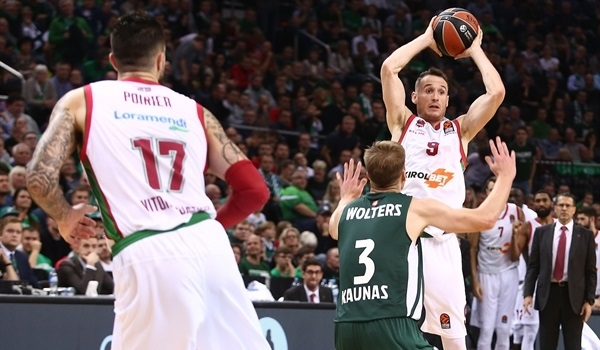 Baskonia wins road opener in Kaunas