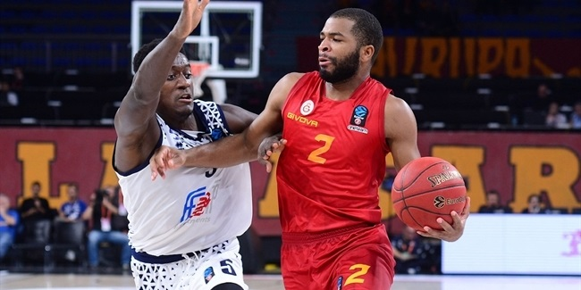 7DAYS EuroCup, Regular Season Round 3: Galatasaray Istanbul vs. Germani Brescia Leonessa