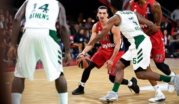 Bayern holds off Panathinaikos in thriller