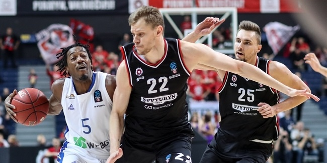 7DAYS EuroCup, Regular Season Round 3: Rytas Vilnius vs. Fraport Skyliners Frankfurt