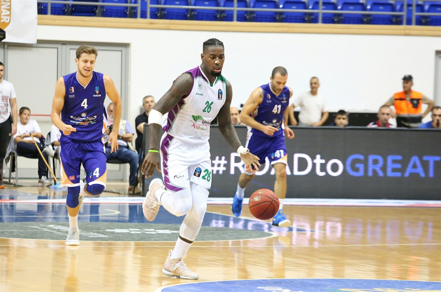 Mathias Lessort - Unicaja Malaga (photo Mornar) - EC18