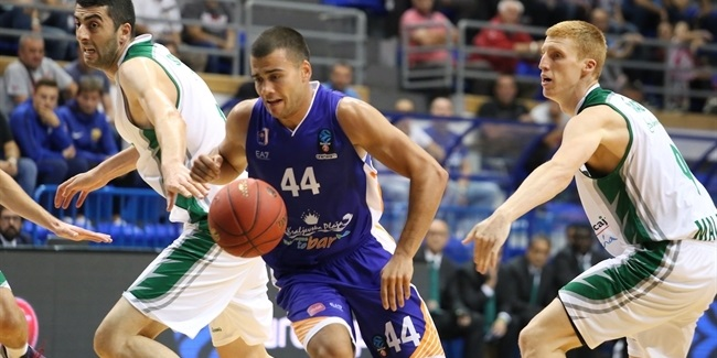 7DAYS EuroCup, Regular Season Round 3: Mornar BAR vs. Unicaja Malaga
