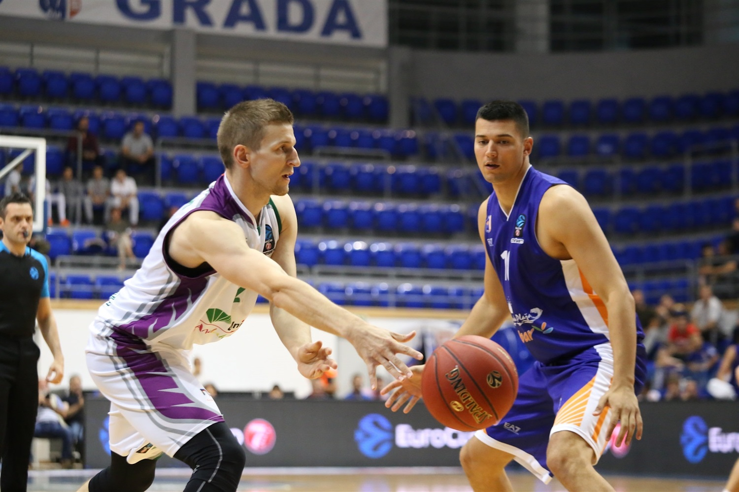 Adam Waczynski - Unicaja Malaga (photo Mornar) - EC18