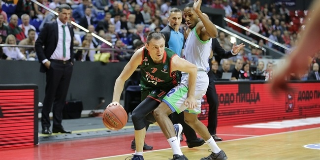 7DAYS EuroCup, Regular Season Round 3: Lokomotiv Kuban Krasnodar vs. Tofas Bursa