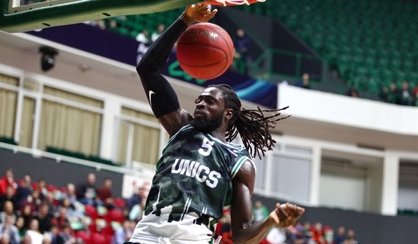 RS Round 3: Morgan shines as UNICS stays perfect by crushing Turin