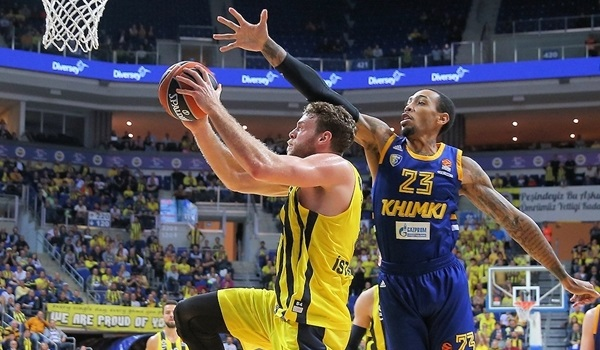 Fenerbahce holds on 93-85 against pesky Khimki