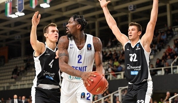 Zenit routs Trento on the road