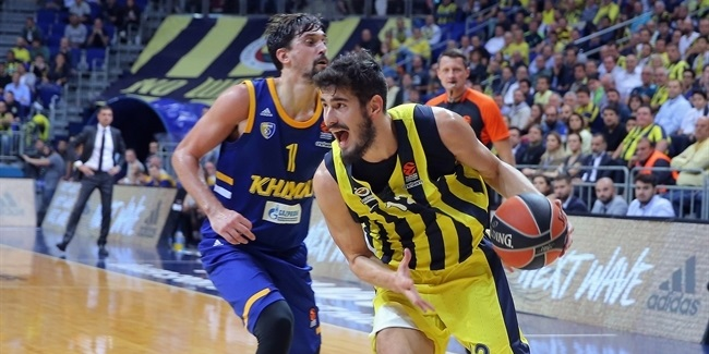 RS Round 2: Fenerbahce Istanbul vs. Khimki Moscow Region