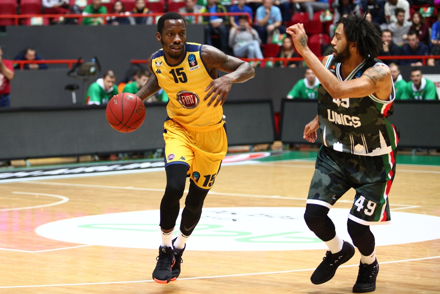 Tyshawn Taylor - Fiat Turin (photo UNICS) - EC18