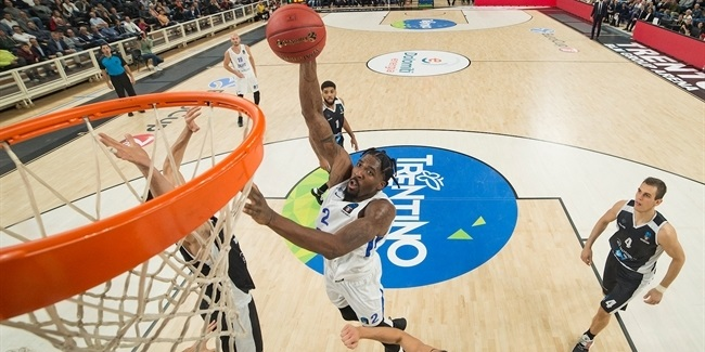 7DAYS EuroCup, Regular Season Round 3: Dolomiti Energia Trento vs. Zenit St Petersburg