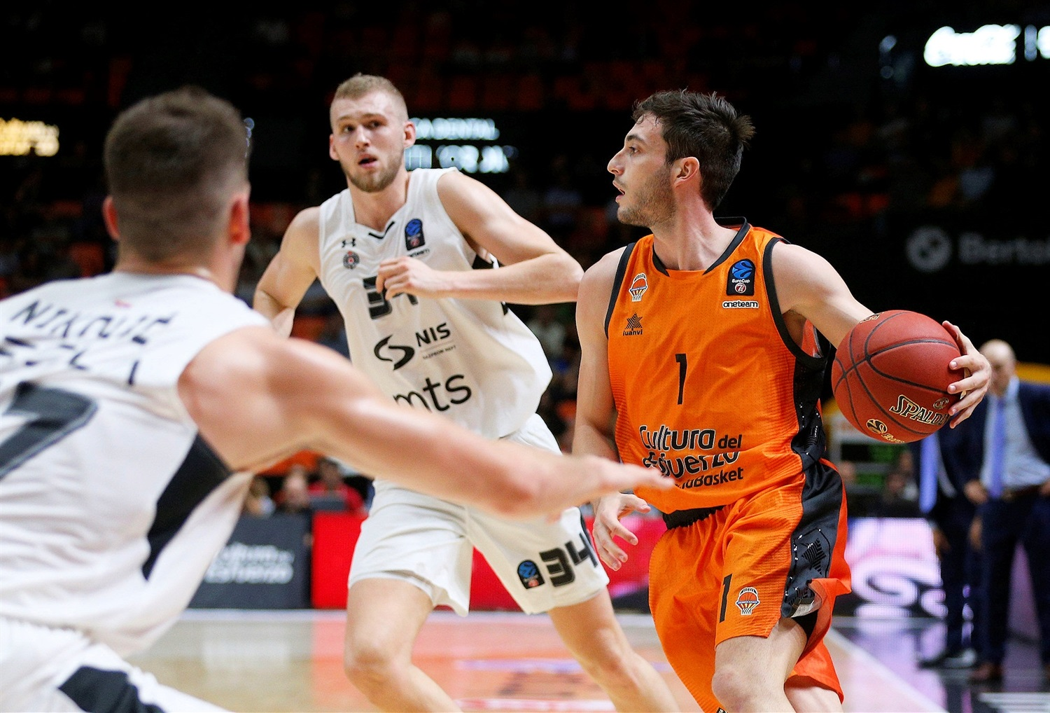 Sergi Garcia - Valencia Basket (photo Valencia) - EC18