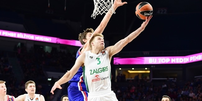 Nate Wolters, Zalgiris: 'Coach told me to be aggressive'