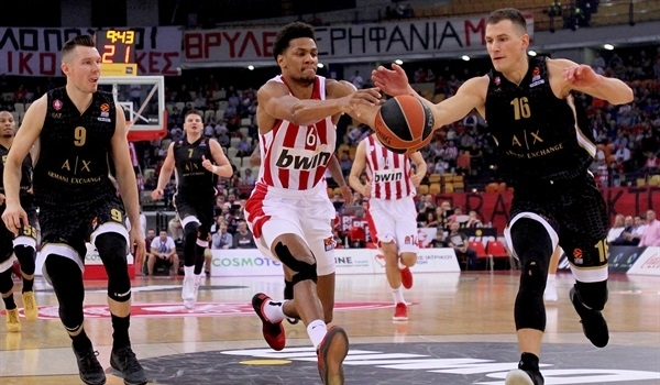 Nedovic and James carry Milan to road win over Olympiacos