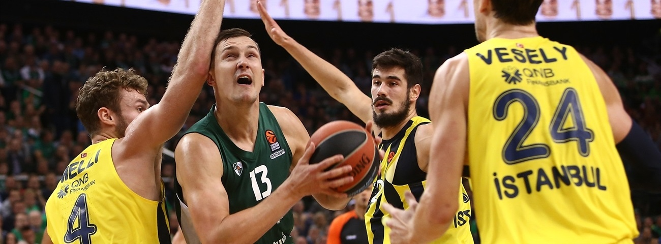 Zalgiris captain Jankunas injured, out 2 weeks