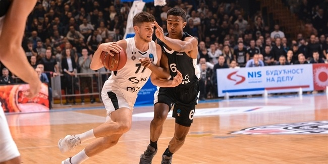 7DAYS EuroCup, Regular Season Round 4: Partizan NIS Belgrade vs. LDLC ASVEL Villeurbanne